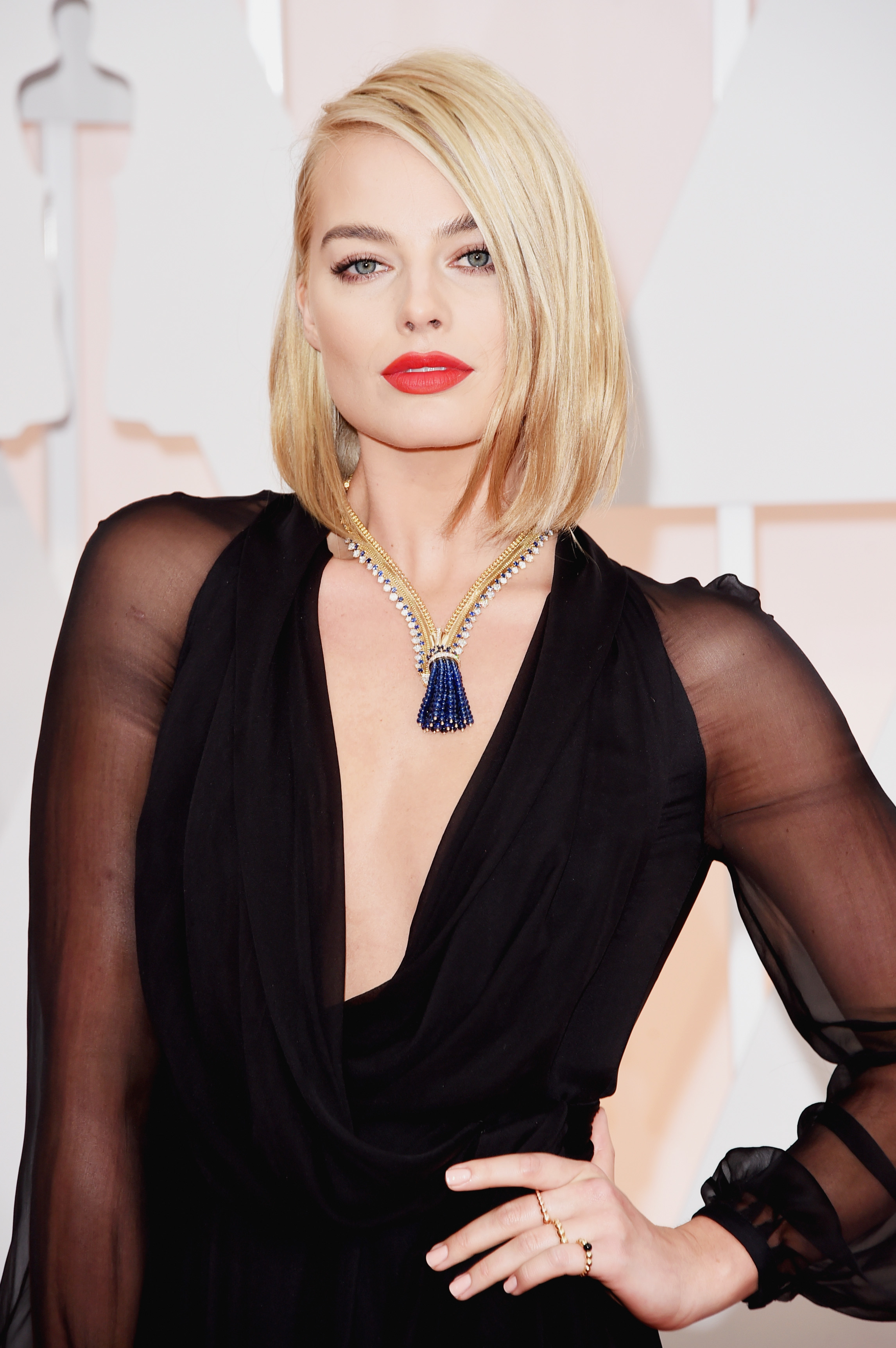 Margot Robbie - Oscars 2015 hires